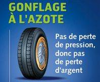 GONFLAGE A L'AZOTE